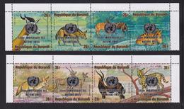BURUNDI AERIENS N°  400 à 407 ** MNH Neufs Sans Charnière, TB  (D3050) Nations Unies, Animaux - 1970-79: Neufs
