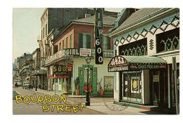 ETATS-UNIS . BOURBON STREET - Réf. N°6723 - - Baton Rouge