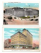 ETATS-UNIS . WASHINGTON D. C. . 2 CARTES POSTALES - Réf. N°6725 - - Washington DC