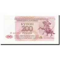 Billet, Transnistrie, 200 Rublei, 1993, KM:21, NEUF - Moldavie