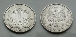 Polen 1 Zloty 1929 VZ Vorzüglich Ni.Cu      (R488) - Polen