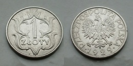 Polen 1 Zloty 1929 VZ Vorzüglich Ni.Cu      (R488) - Polonia