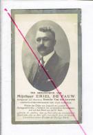 Dp 2903 - EMIEL DE FAUW - AELTRE 1874 + KORTRIJK 1930  - OORLOGSVERMINKTE -EERETEKENS - Devotion Images