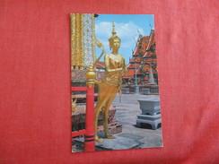 Thailand--Bangkok --Kinaree Guarding Door In Emerald Buddha Temple- Pin Hole -- Ref 2769 - Thailand