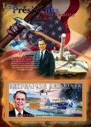 GUINEA 2011 - G.H.W. Bush In WW2 - YT BF1204; CV = 20 € - 2. Weltkrieg