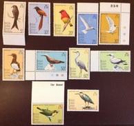British Indian Ocean Territory BIOT 1975 Birds To 1r MNH - Birds