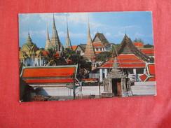 Thailand- Birds Eye View Of Wat Pho Pin Hole Ref 2769 - Thailand