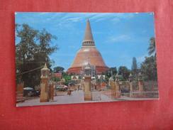 Thailand--  Phra Pathrom Chedi Nakorn Pathrom Pin Hole  ---  Ref 2769 - Thailand