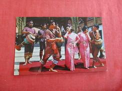 Thailand--  Thai Drum Dance  Pin Hole  ---  Ref 2769 - Thailand