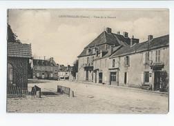 CHENERAILLES (Creuse) - Place De La Bascule - Chenerailles