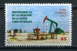 Cuba 2017 / Oil Industry MNH Petroleo Erdölindustrie / Cu6117  37 - Fábricas Y Industrias