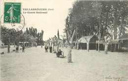 VALLABREGUES - Le Cours National. - Francia
