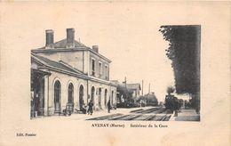 Avenay Gare Train Canton Ay - Frankreich