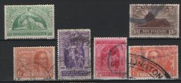 Nuova Zelanda 1919 Y.T. 69/74 O/Used VF/F - 1855-1907 Crown Colony