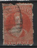 Nuova Zelanda 1873 Y.T. 40 O/Used F - 1855-1907 Crown Colony