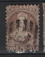 Nuova Zelanda 1873 Y.T. 39a O/Used F - 1855-1907 Crown Colony