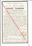 DP 2910 - AUGUST VANMOEN - IZEGEM 1867 + 1936 - Images Religieuses