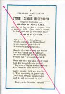 DP 2917 - LYDIE HOUTHOOFD - IZEGEM 1937 + EMELGEM 1939 - Images Religieuses