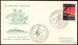 SAILING - ITALIA GENOVA 1970 - IX SALONE NAUTICO INTERNAZIONALE - Zeilen