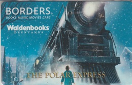 Gift Card U.S.A. Borders The Polar Express - Gift Cards