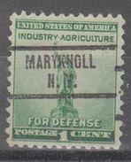 USA Precancel Vorausentwertung Preo, Locals New York, Maryknoll 734 - Vereinigte Staaten