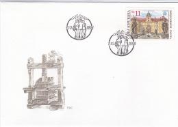 Ceska Republika FDC 1998 UNESCO   (DD1-28) - FDC