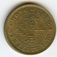 Hong Kong 10 Cents 1979 KM 28.3 - Hong Kong