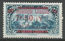 GRAND LIBAN N° 120 NEUF*  LEGERE TRACE DE CHARNIERE TB / MH - Great Lebanon (1924-1945)