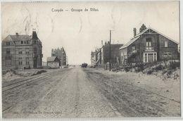 Koksijde - Coxyde - S/Mer Groupe De Villas 1909 - Uitg : STAR De Graeve Nr 2084 - Koksijde