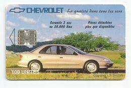 Madagascar Malagasy  Madagaskar TC Publicité Réf Catalogue P18 CHEVROLET CAVALIER LS SEDAN 5000 Ex. - Madagascar