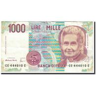 Italie, 1000 Lire, 1995, KM:114c, 1995-12-18, TTB+ - [ 2] 1946-… : République