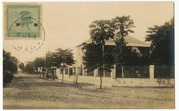 Real Photo Kinshasa Avenue Renkin   Photo André Edition Nogueira Voyagé Luebo 1927 - Kinshasa - Léopoldville