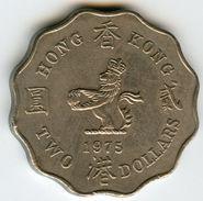 Hong Kong 2 Dollars 1975 KM 37 - Hong Kong