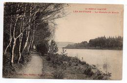 Env  Montsauche-les-Settons--Les Settons--Le Chemin De Ronde - Montsauche Les Settons