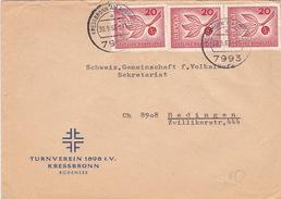 Brief Von Kressbronn Am Bodensee (br2338) - Briefe U. Dokumente