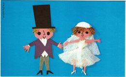 """ENCART DE LA CROIX ROUGE """"MARIAGE""""  REF. LXM  IMPRIMERIE NATIONALE - Mariage"""