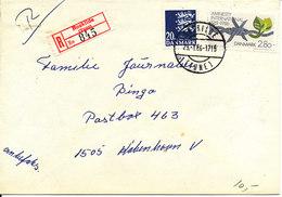 Denmark Registered Cover Roskilde (Tune) 29-1-1986 - Denmark