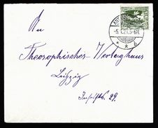 A5031) Oberschlesien Brief Antonienhütte B 5.1.21 Nach Leipzig - Deutschland