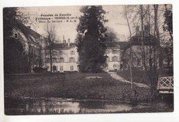 91  YERRES   Pension De Famille à L'abbaye   Gare De Brunoy    Pub Au Dos - Yerres