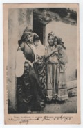 Types Algeriens Groupe De Jeunes Femmes Bedouines.CPA. - Scenes