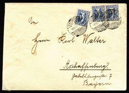 A5032) Oberschlesien Brief Katscher C 8.10.21 Nach Aschaffenburg - Deutschland