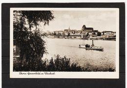 ZAK876 POSTKARTE JAHR 1942 THORN Mit WEICHSEL Gebraucht SIEHE ABBILDUNG - Danzig