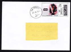 FRANCE 2017 Star Wars Last Jedis Kylo Ren Letter RARE - Cinema