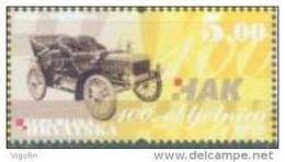 HR 2006-778 100YEAR AUTOCLUB, CROATIA-HRVATSKA, 1v, MNH - Kroatien