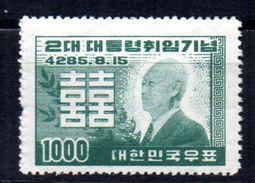 Sello Nº 124A Corea Sur - Korea, South