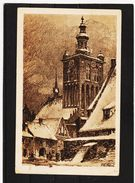 ZAK888  POSTKARTE JAHR 1931 DANZIG An Der Großen MÜHLE KATHARINENKIRCHE Gebraucht SIEHE ABBILDUNG - Danzig