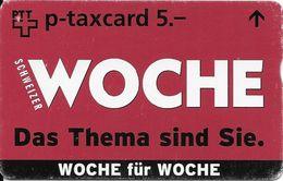 PTT P: KF-256A2 603L Schweizer Woche - Zeitschrift - Schweiz