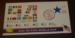 USA Ganzsache Fifa World Cup 94     #cover 4091 - World Cup