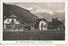 74   SERVOZ - Villas Et Le Mont Blanc ( Villa Les Argentieres ) - France