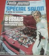 L'Auto Journal N°19 Septembre 1970 Spécial Salon Citroën SM, Renault 12 Gordini, Jochen RINDT , Essai Kawasaki 500 - Auto/Motorrad